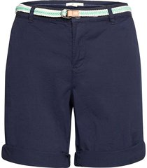 shorts woven shorts chino shorts blå esprit casual