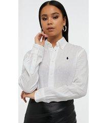 polo ralph lauren relaxed fit linen shirt skjortor