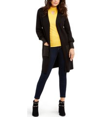 thalia sodi studded open-front cardigan, created for macy's