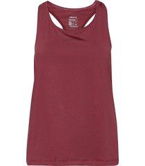adv essence singlet w t-shirts & tops sleeveless röd craft