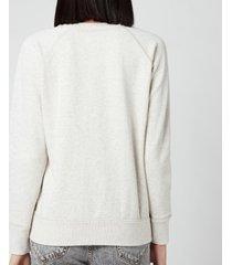 isabel marant étoile women's milly sweatshirt - ecru - fr 34/uk 6