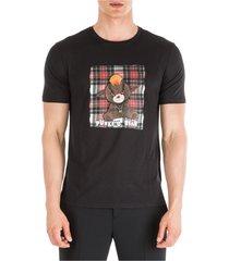 men's short sleeve t-shirt crew neckline jumper punke d bear slim fit