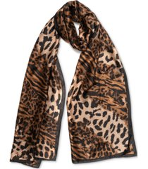 inc animal-print scarf, created for macy's