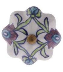 puxador porta ceramica 926978 a7xd5 cm - besha