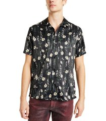 inc men's karsyn floral camp shirt, created for macy's