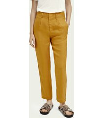 scotch & soda straight fit pantalon