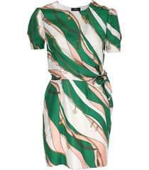 elisabetta franchi short twill dress