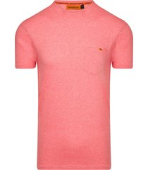 ombre roma heren t-shirt coral