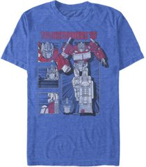 fifth sun men's optimus panel short sleeve crew t-shirt
