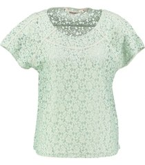 garcia kanten shirt sea foam