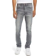 men's ksubi men's chitch smokescreen slim fit jeans, size 31 - grey