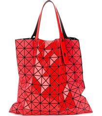 bao bao issey miyake scarlett tote - red