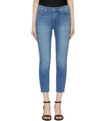 'el matador' cropped skinny jeans