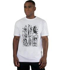 camiseta ventura junkie branco - kanui