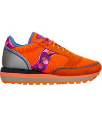 scarpe sneakers donna camoscio jazz triple