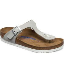 gizeh shoes summer shoes flat sandals grå birkenstock