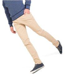 pantalón casual 340 unicolor slim fit 02266