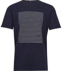 antibes t-shirt t-shirts short-sleeved blå les deux