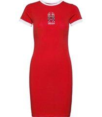 el ninetta dress kort klänning röd ellesse