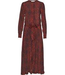 kavitaiw long dress maxi dress galajurk rood inwear