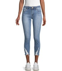 articles of society women's suzy destroyed skinny jeans - denim - size 24 (0)