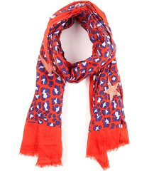 pañuelo american print rojo/azul humana
