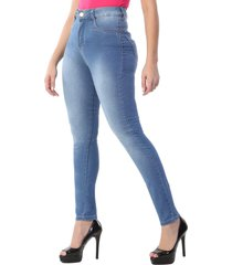 calça jeans sawary skinny 360 azul