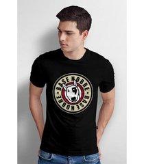 camiseta base nobre circle t- shirt masculina - masculino