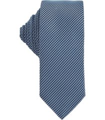 boss men's light pastel blue tie