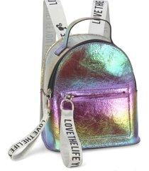 mini mochila luxcel barbie 45804 bronze