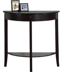 monarch specialties console table