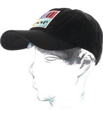 ellesse heritage romal box logo cap |black| ac1144-blk