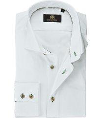 circle of gentlemen overhemd dinant groene details twill slim fit