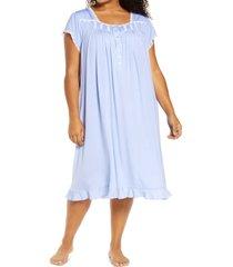 plus size women's eileen west jersey waltz nightgown