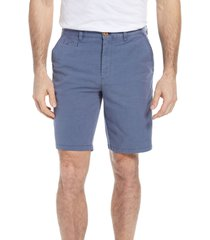 johnnie-o men's reyes stretch cotton shorts, size 30 in wake at nordstrom