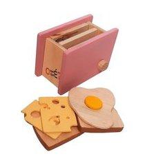 torradeira de madeira - o que é o que é - mundo rosa