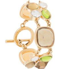 susan caplan vintage 1980s d'orlan gemstone-embellished bracelet -