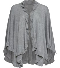 poncho con cachemire (grigio) - bpc bonprix collection
