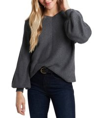 1.state trendy plus size v-neck sweater