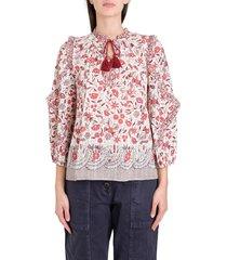 ulla johnson azalea blouse