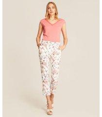 pantalón floral