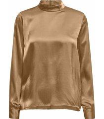justine silk blouse