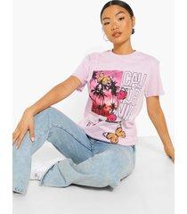 petite california vlinder t-shirt, lilac