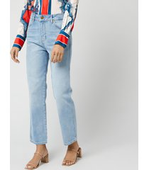 victoria, victoria beckham women's cali jeans - cloud blue - w28