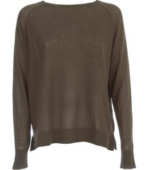 aspesi knitted sweater l/s turtle neck