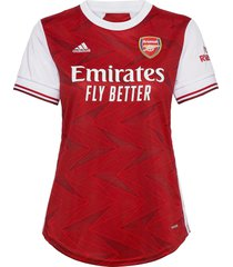 arsenal women's home jersey t-shirts & tops football shirts rood adidas performance