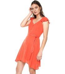vestido coral glamorous