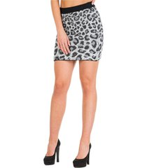 alberta ferretti love me wild mini skirt