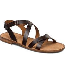 sandals 4162 shoes summer shoes flat sandals brun billi bi