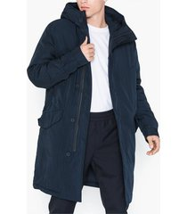 hope man parka jackor dark navy